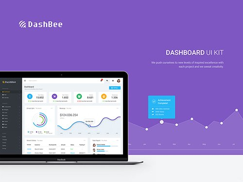 DashBee - Dashboard UI Kit