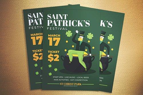 Saint Patrick Fest Flyer