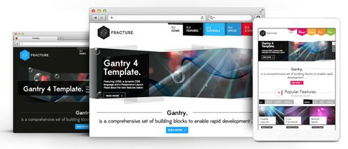 RocketTheme - Fracture v1.16 - Joomla Theme