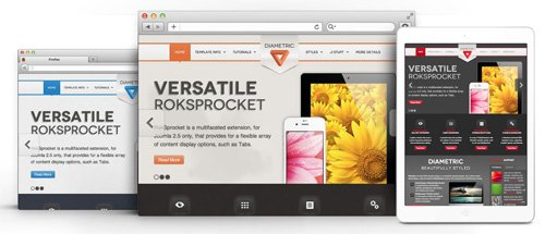 RocketTheme - Diametric v1.11 - Joomla Theme