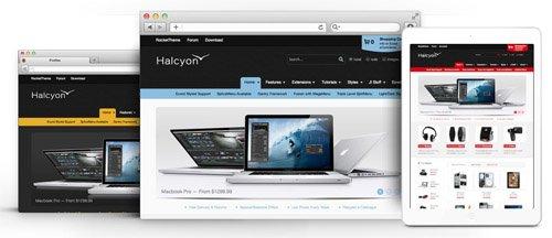 RocketTheme - Halcyon v1.11 - Joomla Theme