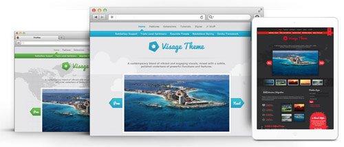RocketTheme - Visage v1.11 - Joomla Theme
