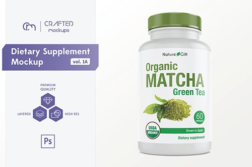 Dietary Supplement Mockup v. 1A
