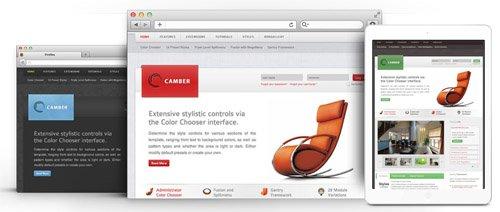 RocketTheme - Camber v1.15 - Joomla Theme