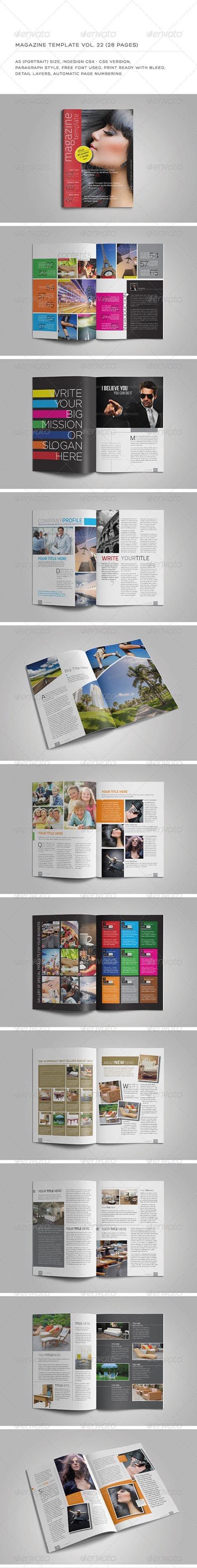 A5 Portrait 28 Pages MGZ (Vol. 22) 5837020