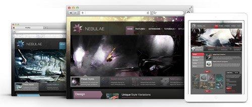 RocketTheme - Nebulae v1.15 - Joomla Theme