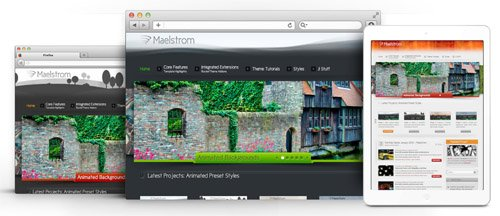 RocketTheme - Maelstrom v1.11 - Joomla Theme