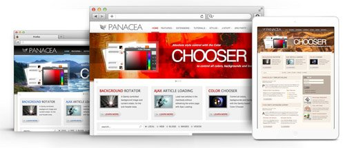 RocketTheme - Panacea v1.11 - Joomla Theme