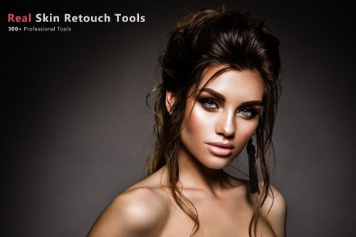 CreativeMarket - 300+ Real Skin Retouch Tools 3578659