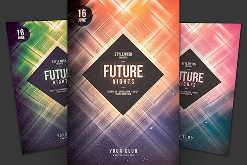 Future Nights Flyer