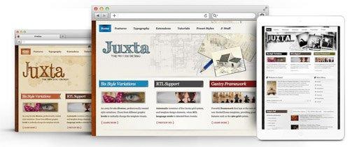 RocketTheme - Juxta v1.9 - Joomla Theme