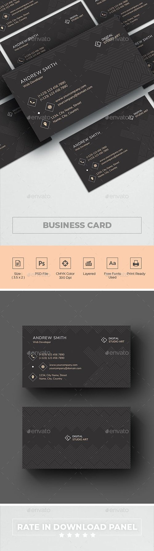 GraphicRiver - Business Card 23192684