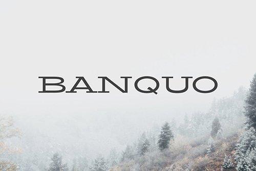 Banquo Serif Font Family