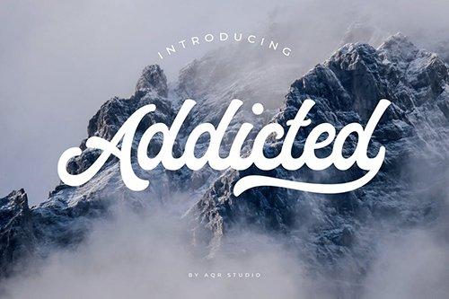 Addicted Font