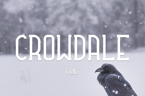 Crowdale Font