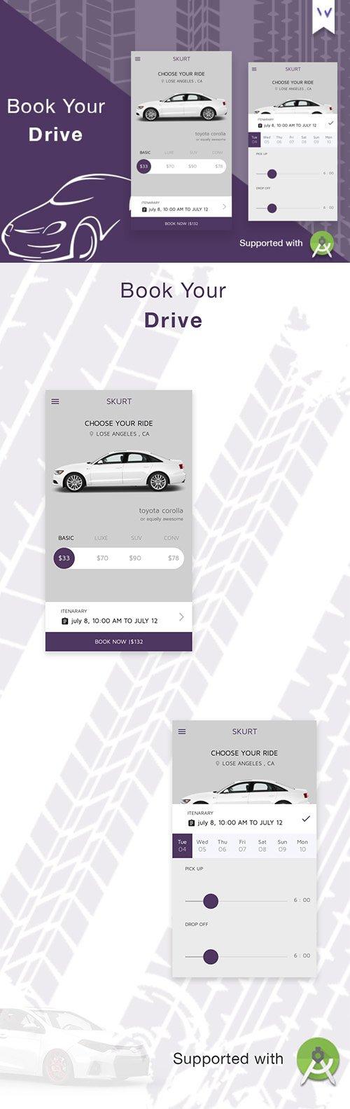 Skurt UI APP KIT For Android