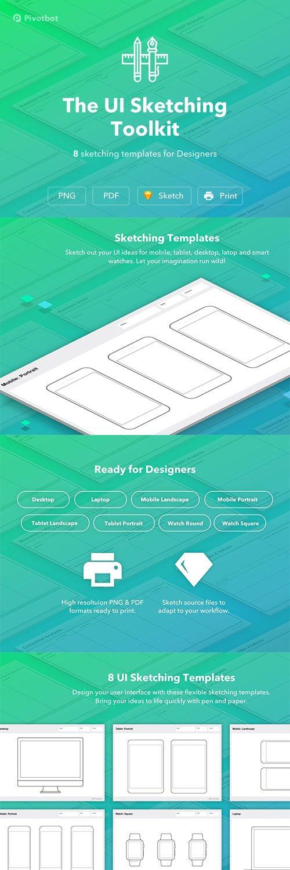 The UI Sketching Toolkit