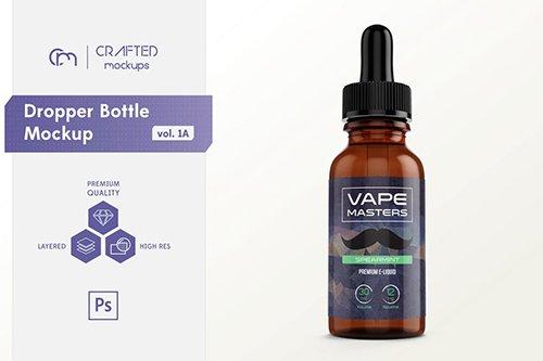 Dropper Bottle Mockup vol. 1A
