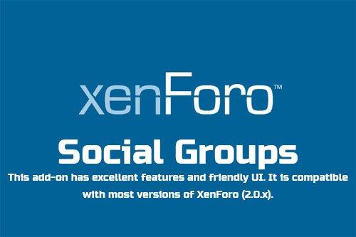 Social Groups v2.0.4  - XenForo 2 Add-On