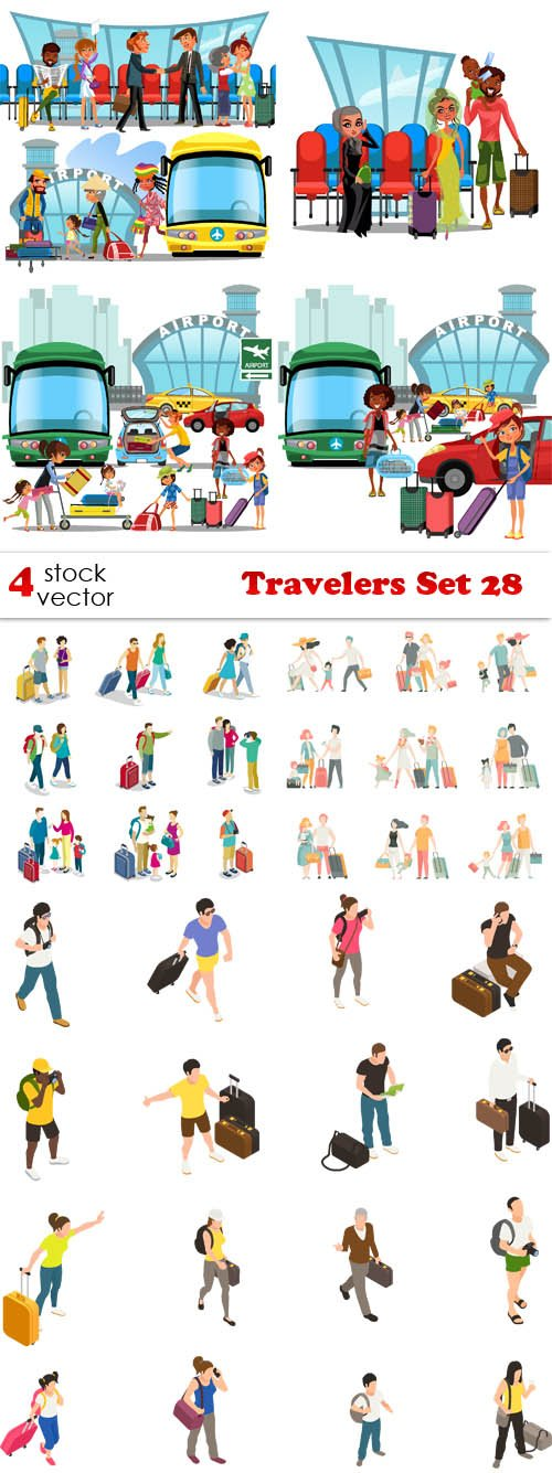 Vectors - Travelers Set 28
