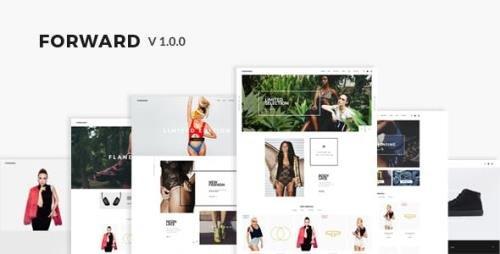 ThemeForest - Forward v1.0 - Fashion Responsive Magento Theme - 16974928