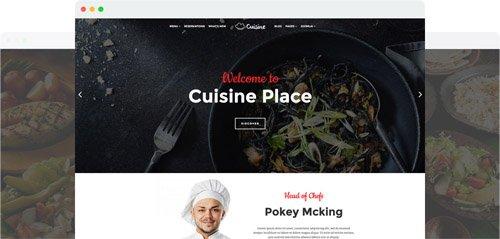JoomShaper - Cuisine v1.7 - Responsive Restaurant Joomla Template