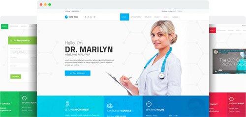 JoomShaper - Doctor v2.1 - Medical Clinic Joomla Template