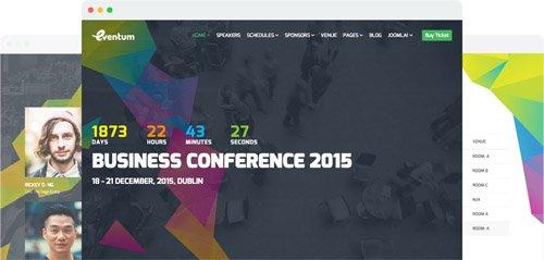 JoomShaper - Eventum v2.1 - Responsive Event & Conference Joomla Template
