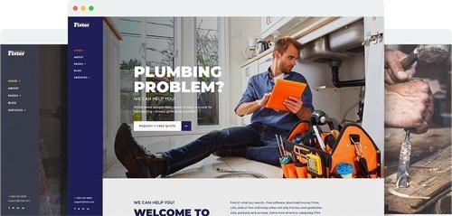 JoomShaper - Fixter v1.1 - Joomla Template for Home Maintenance and Handyman Service Websites