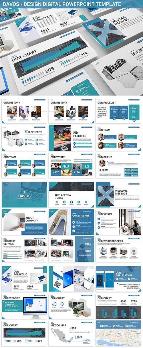 Davos - Design Digital Powerpoint Template