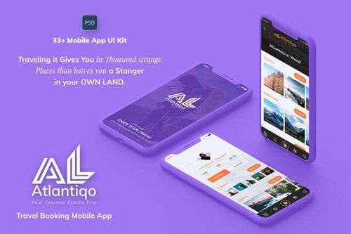 Atlantigo-Travel & Flight Booking MobileApp UI Kit