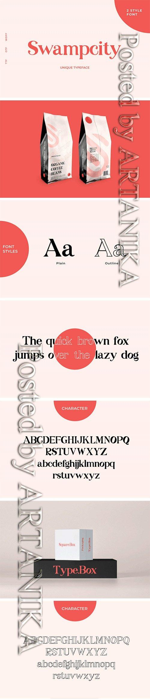 Swampcity Font