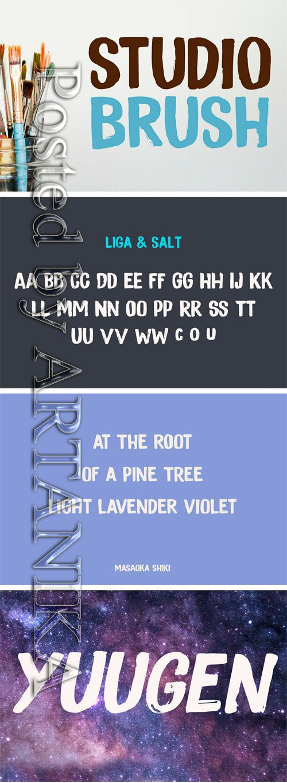Studio Brush Font