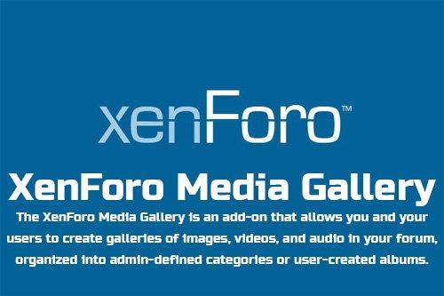 XenForo Media Gallery v2.1.1 - XenForo 2 Add-On