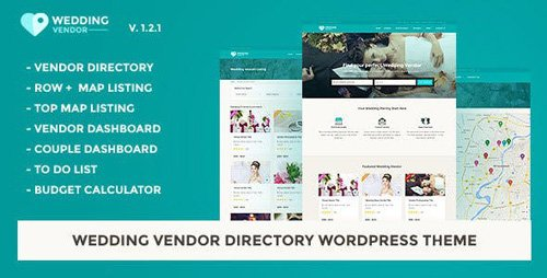 ThemeForest - Vendor Directory WordPress Theme | Wedding Vendor v1.2.1 - 16494934