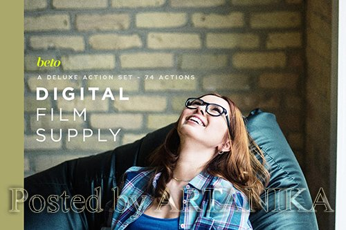 Digital Film Supply Action Bundle