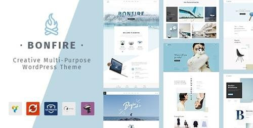 ThemeForest - Bonfire v1.6 - Creative Multipurpose WordPress Theme - 20280361