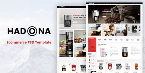 ThemeForest - Hadona v1.0 - Ecommerce PSD Template - 16683165