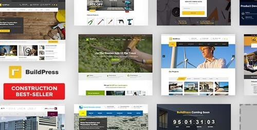 ThemeForest - BuildPress v5.5.6 - Multi-purpose Construction and Landscape WP Theme - 9323981 - NULLED