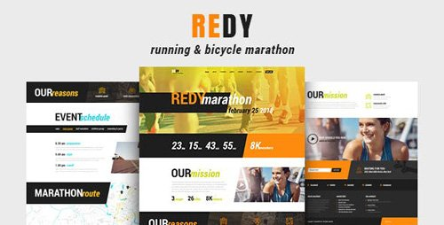 ThemeForest - Redy v1.0.3 - Marathon Sports WordPress Theme - 22024867