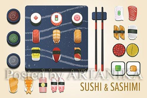 Sushi & Sashimi Icon