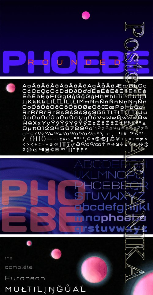 Phoebe Rounded Font Family