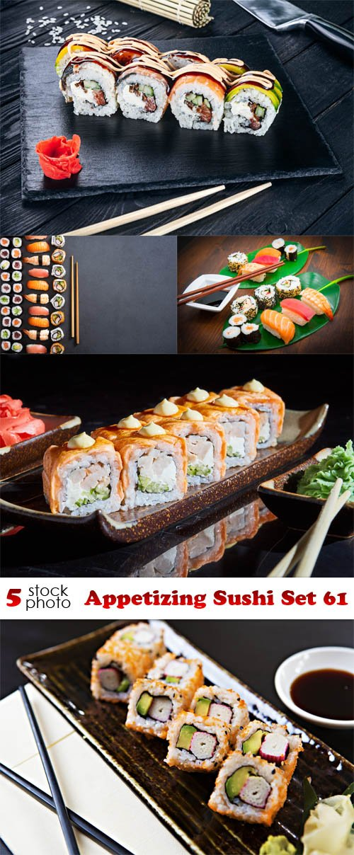 Photos - Appetizing Sushi Set 61