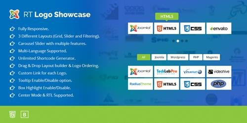 RT Logo Showcase & Slider for Joomla v2.4