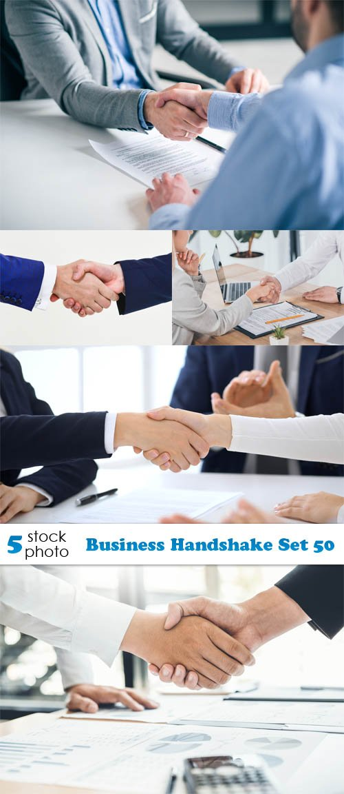 Photos - Business Handshake Set 50