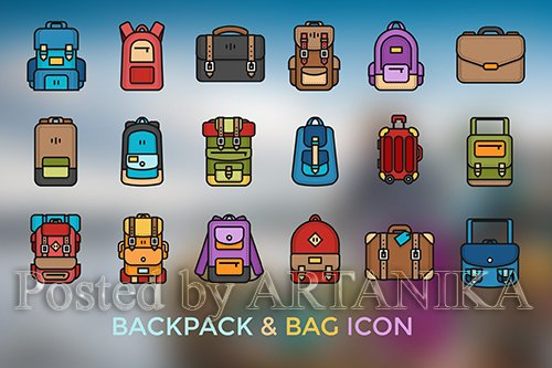 Backpack & Bag Icon