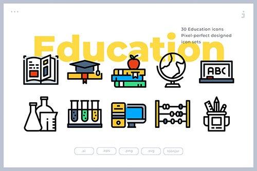 30 Education Icons