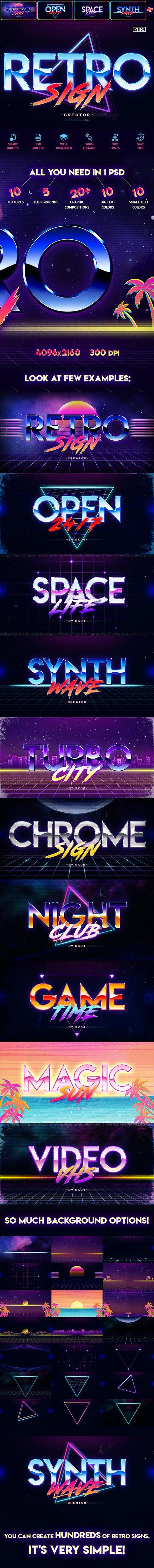 80s Retro Text Effects 22510362