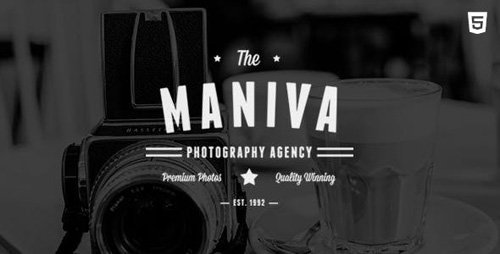 ThemeForest - Photography Agency - Maniva HTML Template v1.0 - 12312117