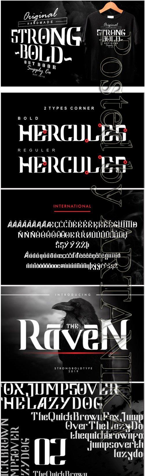 Raven Font
